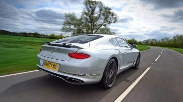 Bentley Continental GT UK drive - rear