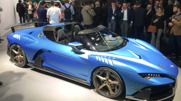 Italdesign Zerouno Duerta convertible