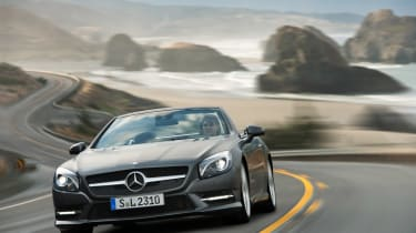 Mercedes SL UK prices