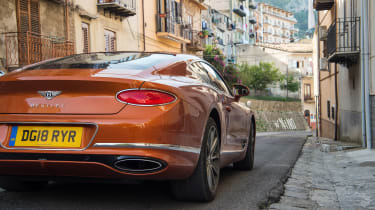 Bentley Continental GT review – town