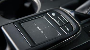 Lexus RC F - Track pad