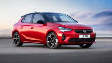 New Vauxhall Corsa front three quarters