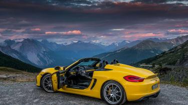 Porsche Boxster Spyder - roof