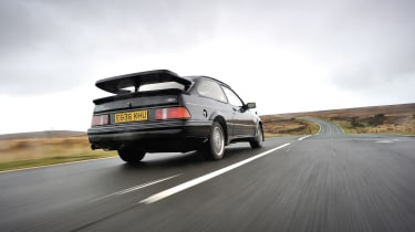 Ford Sierra RS500 Cosworth - Rear