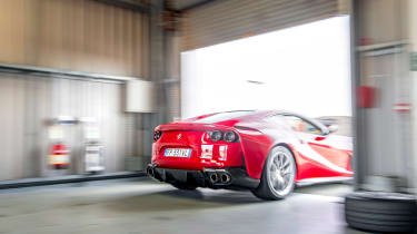 Ferrari 812 Superfast Anglesey - rear