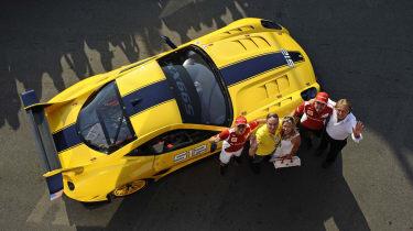 Charity Ferrari 599XX sold