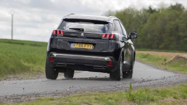 Peugeot 3008 GT rear cornering