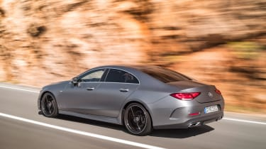 Mercedes-Benz CLS AMG Line – rear quarter