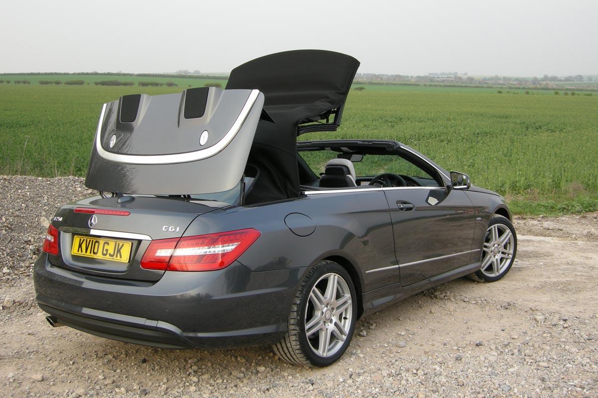 Mercedes-Benz E250 CGI Cabrio review | Evo