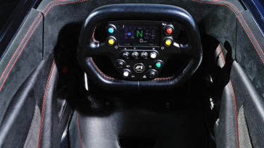 BAC Mono interior dashboard steering wheel