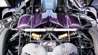Koenigsegg Agera R engine bay