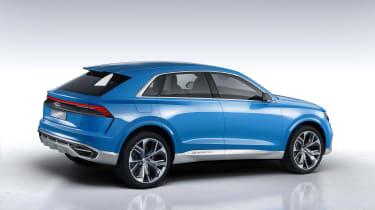 Audi Q8 concept rear three-quarters