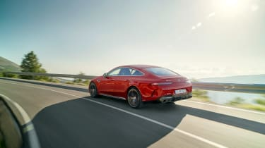 Mercedes-AMG GT63 S E Performance 2 – rear tracking