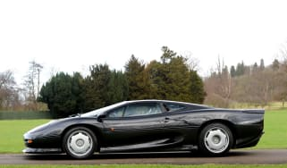 Low mileage Jaguar XJ220 up for auction