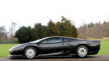 Low mileage Jaguar XJ220 up for auction