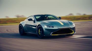 Aston Martin Vantage AMR revealed - front quarter