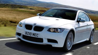 BMW M3 Competition front left track