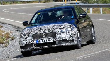 BMW 5-series facelift - front quarter
