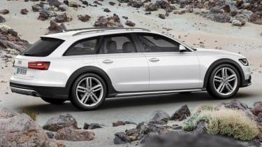 New Audi A6 Allroad side profile