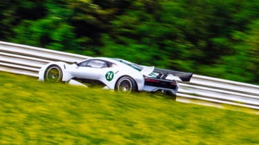 Brabham BT62 rear