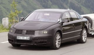 Volkswagen Phaeton spy images