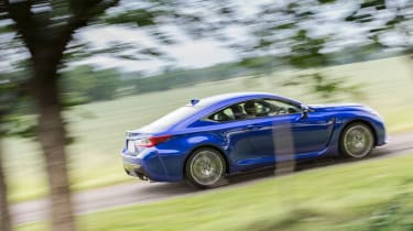 Lexus RC F - Side