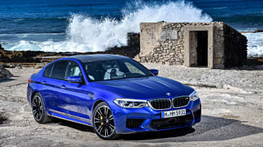 BMW M5 review - front