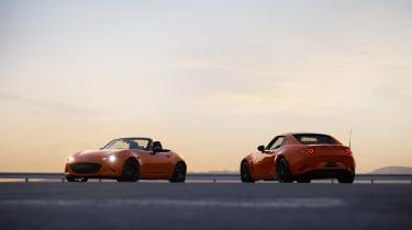 Mazda MX-5 30th Anniversary - pair