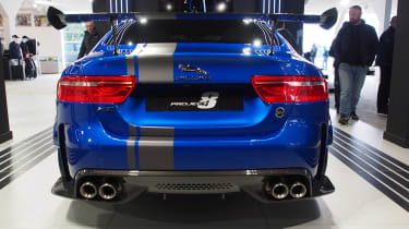 Goodwood Festival of Speed - Jaguar XE SV Project 8 rear