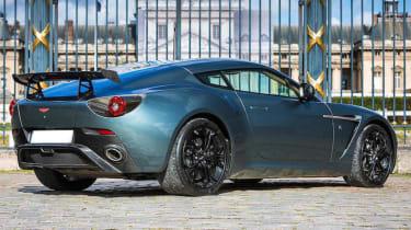 Aston Martin V12 Zagato Coupe – rear quarter