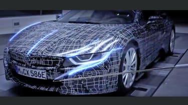 BMW i8 Spyder - teaser aero