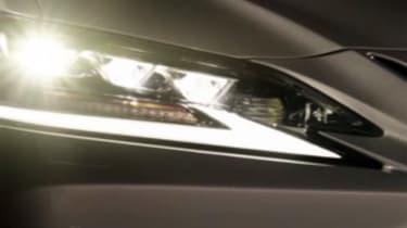 Lexus ES – headlight