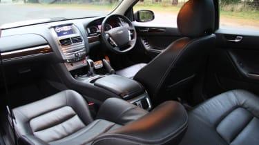 Ford FPV GT E interior