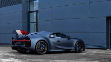 Bugatti Chiron 110 edition - rear quarter