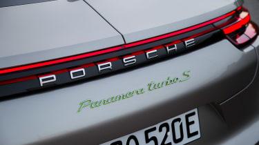 Porsche Panamera Turbo S E-Hybrid ride - rear