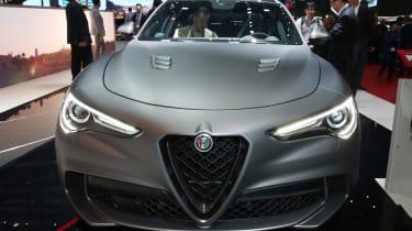 Alfa Romeo Stelvio Quadrifoglio NRING – front