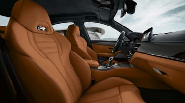 BMW M5 Competition - seats
