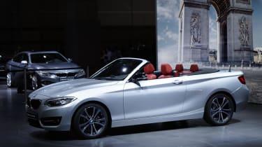 BMW 2-series convertible: Paris motor show 2014