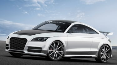 Audi TT Ultra Quattro cuts weight