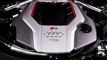 Audi RS5 Sportback review - engine