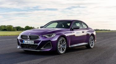 BMW 2-series 2021 – front tracking