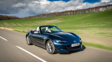 Mazda MX-5 Sport Venture - front tracking