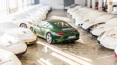 Porsche 911 Carrera - 1 millionth car rear