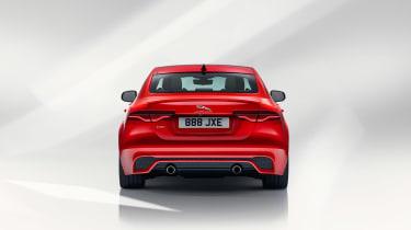 Jaguar XE facelift - rear
