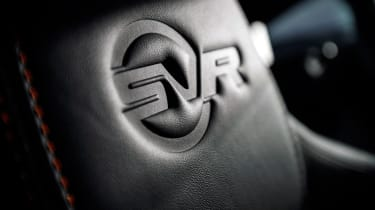 2018 Jaguar F-type SVR - Interior detail