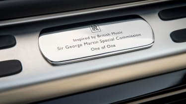 Rolls-Royce Wraith Inspired by Music - sill plate