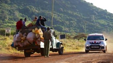 Fiat Panda Africa record run - Day 5