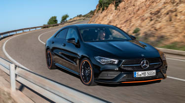 Mercedes CLA 2019 revealed - front