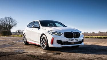 BMW 128ti - front static