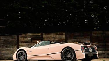 Pink Pagani Zonda - Goodwood Festival of Speed auction
